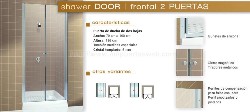 Puertas De Baño San Martin:frontal 1 puerta modelo shawer door box open 2 puertas